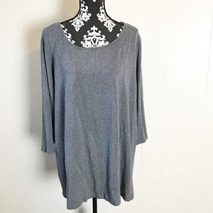 Westbound Woman 2XL Basic Gray  T-shirt Soft